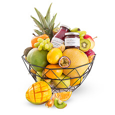 Fruit Dessert Gift Basket