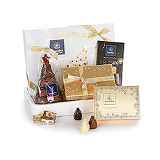 Leonidas White Christmas Chocolate Gift Tray